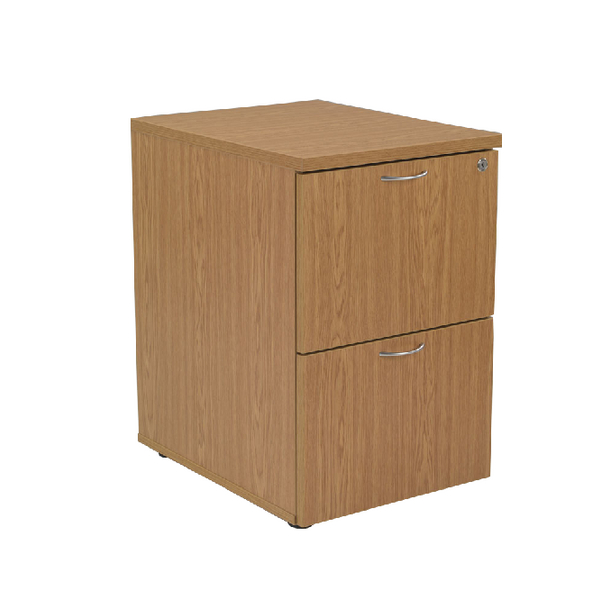 Two-Drawer First Filing Cabinet 2 Drawer Oak KF74903
