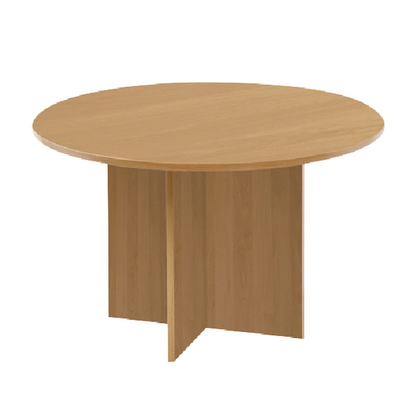 Unspecified First Round Meeting Table Maple KF74908