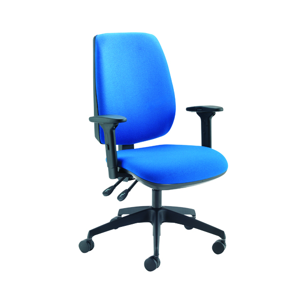 Stacking Jemini Grayson High Back Task Chairs KF74956