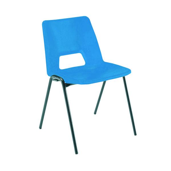 Jemini Polypropylene Stacking Chair Blue KF74958