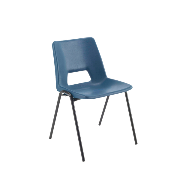 Seating Jemini Polypropylene Stacking Chair 430mm Blue KF74984