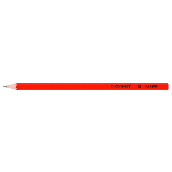Black Lead Q-Connect 2B Office Pencil (12 Pack) KF76991