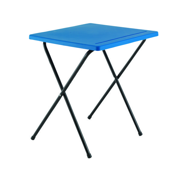 Desks/Tables Titan Folding Exam Desk Polypropylene Blue KF78652