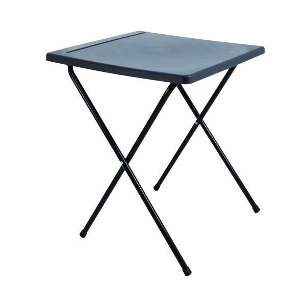 Desks/Tables Titan Folding Exam Desk Polypropylene Charcoal KF78653