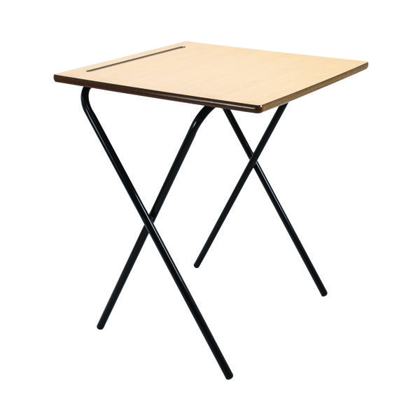 Desks/Tables Titan Folding Exam Desk MDF KF78654
