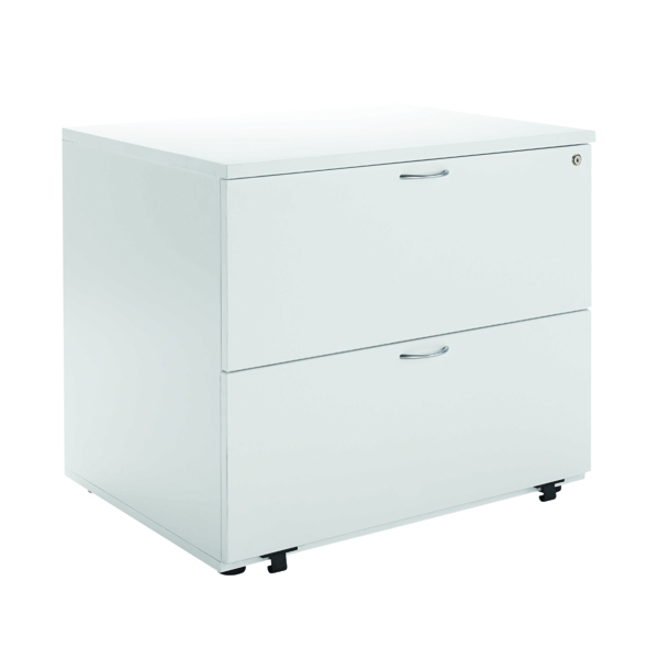 Two-Drawer Jemini White 2 Drawer Side Filer KF78665