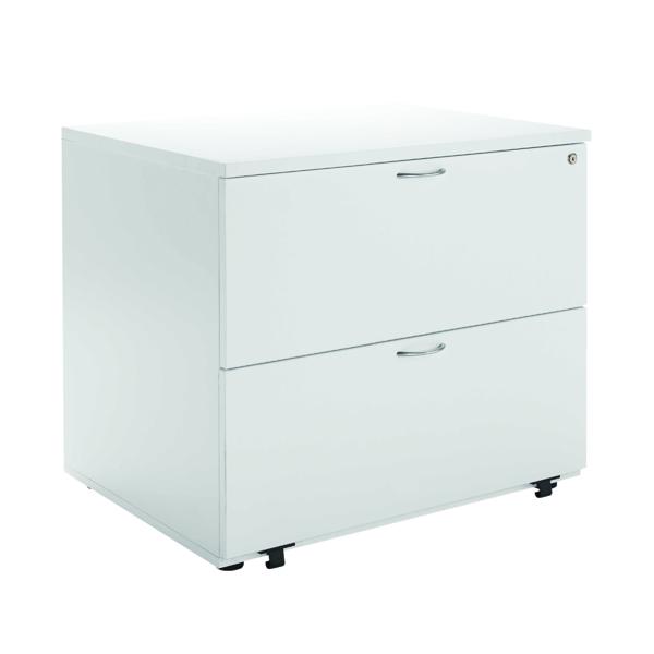 Jemini White 2 Drawer Side Filer KF78665