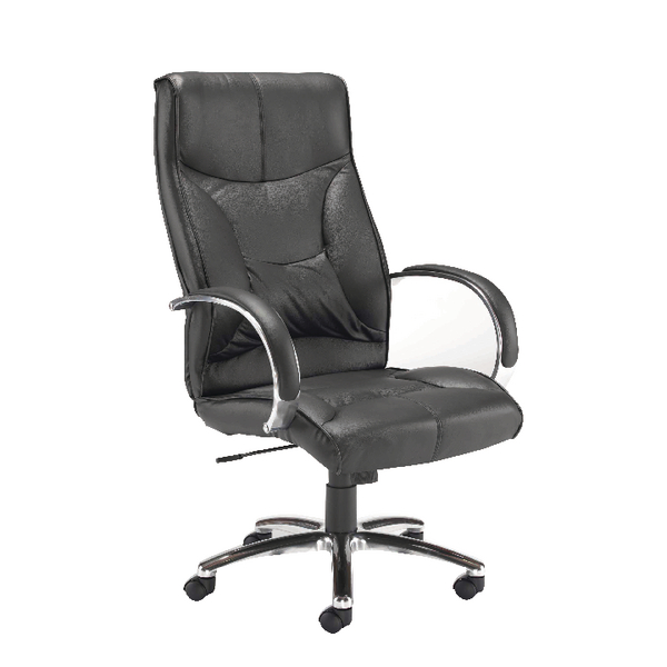 High Back Arista Richmond High Back Leather Look Executive Chair KF78701