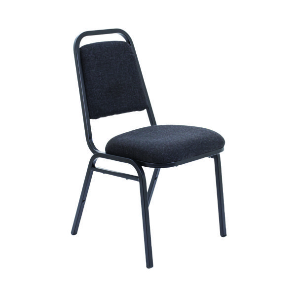 Seating Arista Banqueting Chair Charcoal KF78703