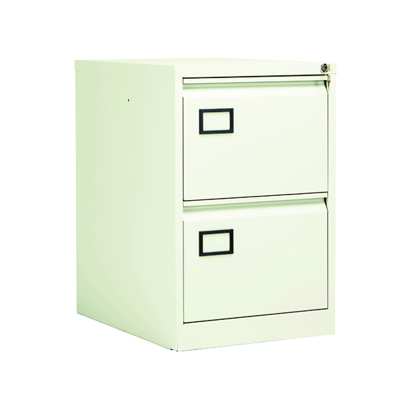 Two-Drawer Jemini 2 Drawer Filing Cabinet White KF78706