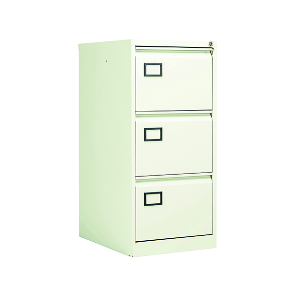 Jemini 3 Drawer Filing Cabinet White KF78707