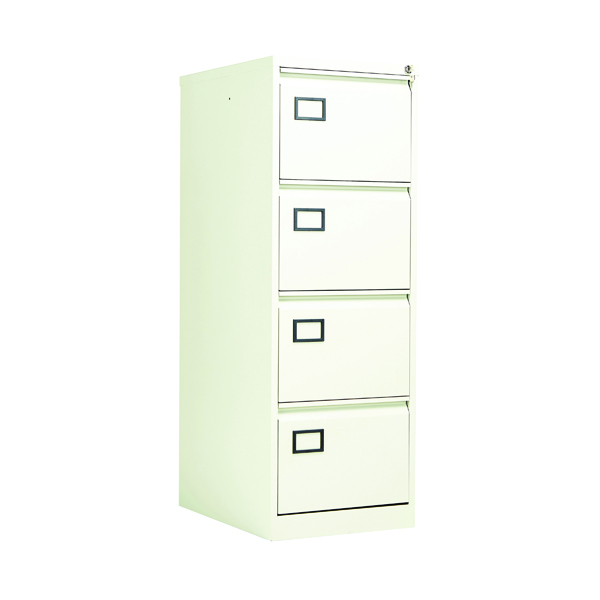 Four Drawer Jemini 4 Drawer Filing Cabinet White KF78708