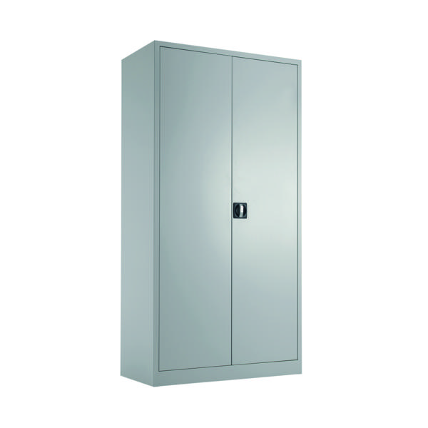Cupboards H over 1200mm Talos Double Door Stationery Cupboard 1790 Grey KF78754