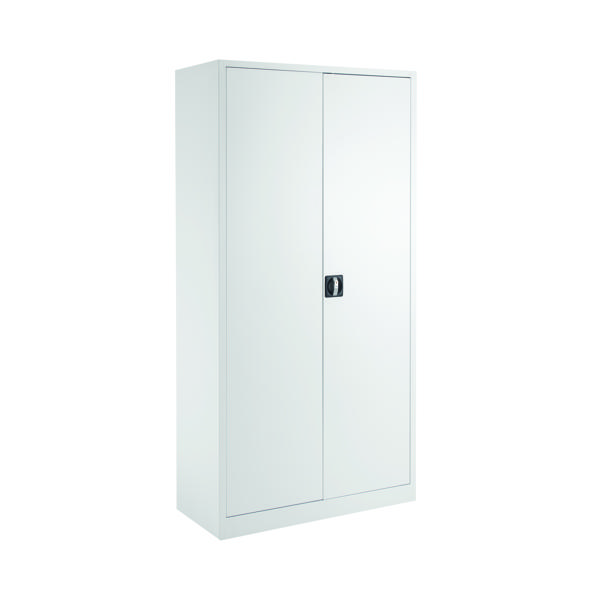 Cupboards H over 1200mm Talos Double Door Stationery Cupboard 1790 White KF78755