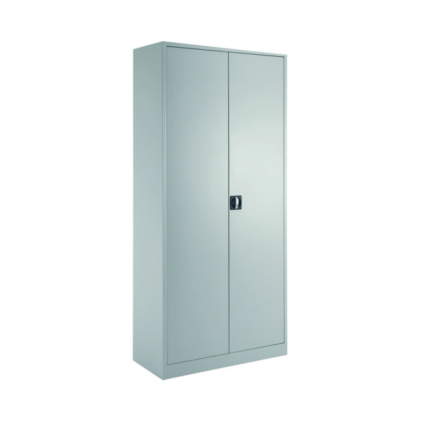 Cupboards H over 1200mm Talos Double Door Stationery Cupboard 1950 Grey KF78756