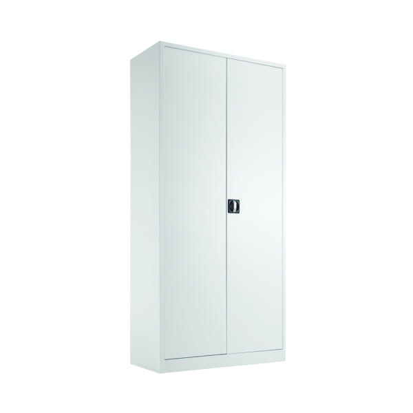 Cupboards H over 1200mm Talos Double Door Stationery Cupboard 1950 White KF78757