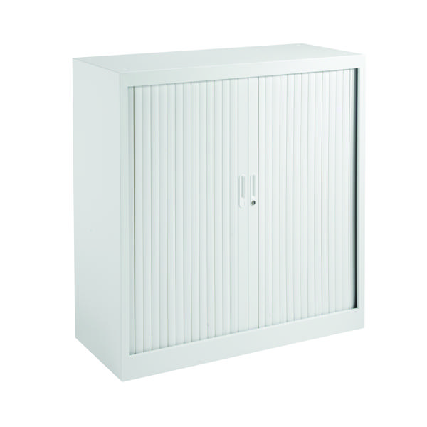 Cupboards H up to 1200mm Talos Side Opening Tambour 1050 White KF78759