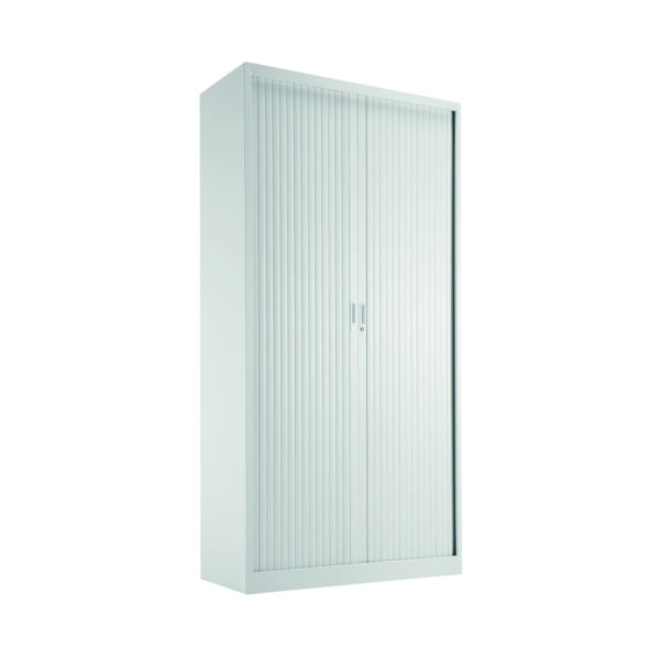 Cupboards H over 1200mm Talos Side Opening Tambour 1950 White KF78761