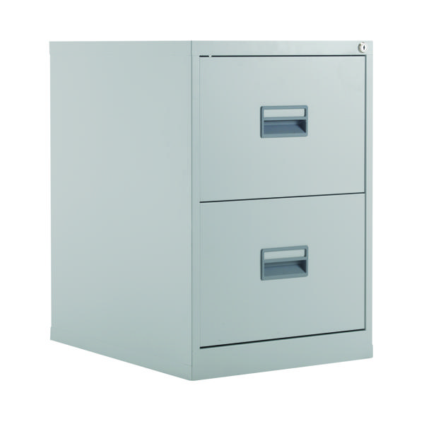Two-Drawer Talos 2 Drawer Filing Cabinet Grey KF78764