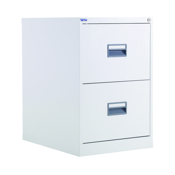Two-Drawer Talos 2 Drawer Filing Cabinet White KF78765