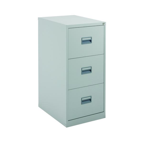 Talos 3 Drawer Filing Cabinet Grey KF78768