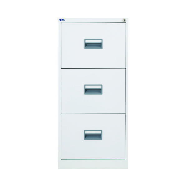 Talos 3 Drawer Filing Cabinet White KF78769