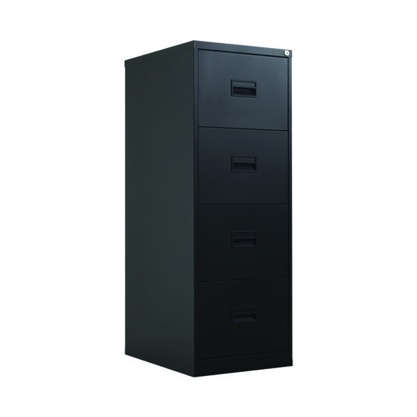 Four Drawer Talos 4 Drawer Filing Cabinet Black KF78770