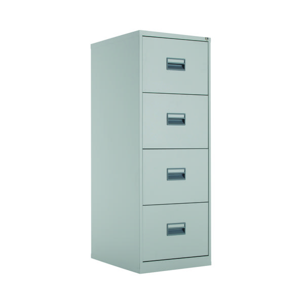 Four Drawer Talos 4 Drawer Filing Cabinet Grey KF78772