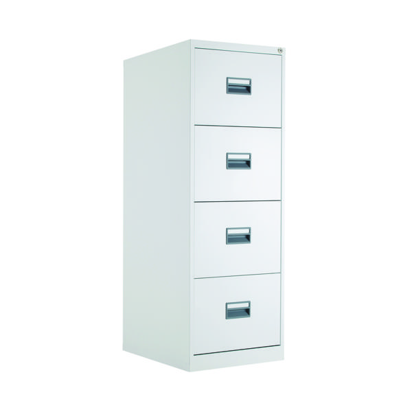 Four Drawer Talos 4 Drawer Filing Cabinet White KF78773