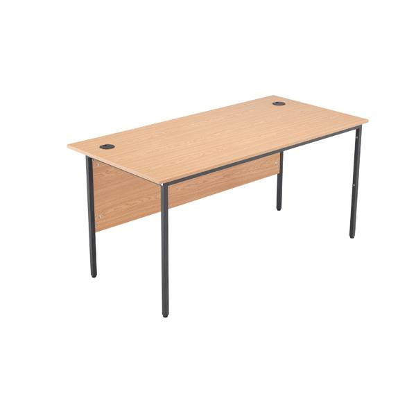 Jemini Oak 1532mm Single Desk KF78935