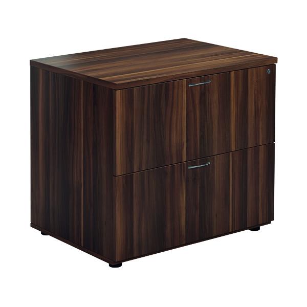 Unspecified Jemini Walnut 2 Drawer Side Filer KF78952