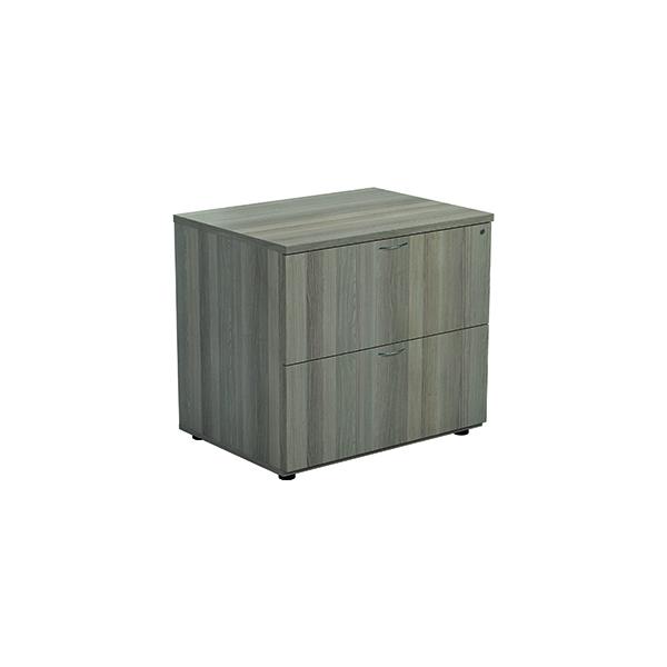Unspecified Jemini Grey Oak 2 Drawer Side Filer KF78953