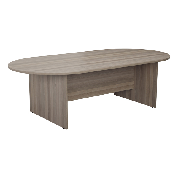 Office Jemini Grey Oak 1800mm Meeting Table KF78963