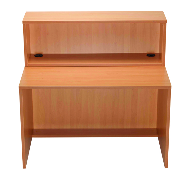 Jemini Beech D1200 Modular Straight Reception Hutch KF78969