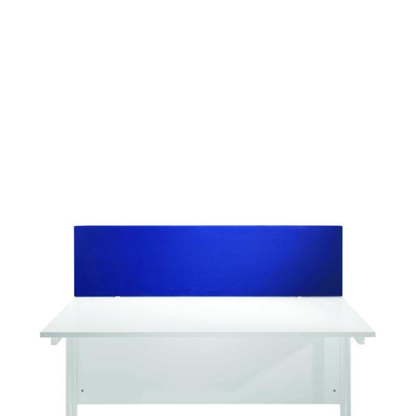 Desk Jemini Blue 800mm Straight Desk Screen KF78976