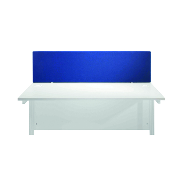 Desk Jemini Blue 1200mm Straight Desk Screen KF78978