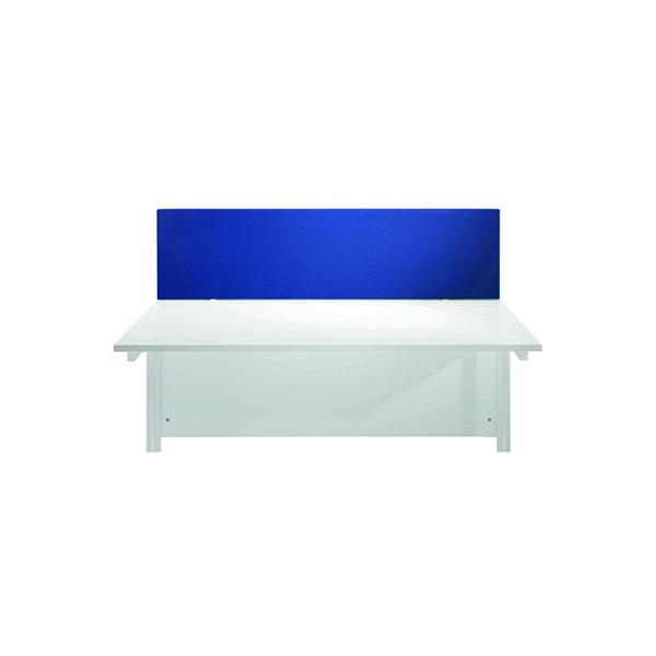 Desk Jemini Blue 1600mm Straight Desk Screen KF78981