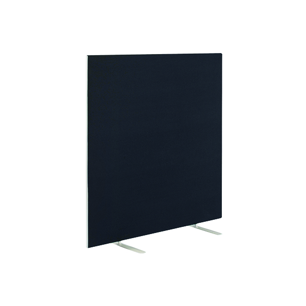 Straight Tops Jemini Black 1200x1600mm Floor Standing Screen KF79009