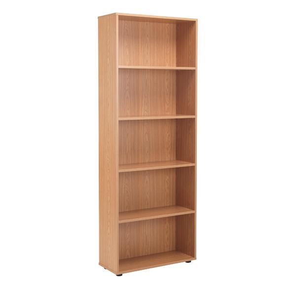 Jemini 18 Oak 2004mm Four Shelf Open Bookcase KF79020