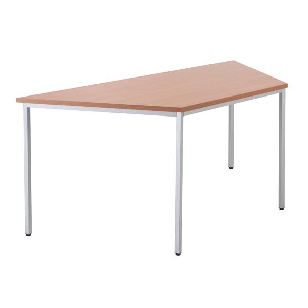 Jemini Beech 1600mm Trapezoidal Table KF79034