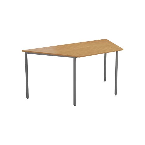 Jemini Oak 1600mm Trapezoidal Table KF79035