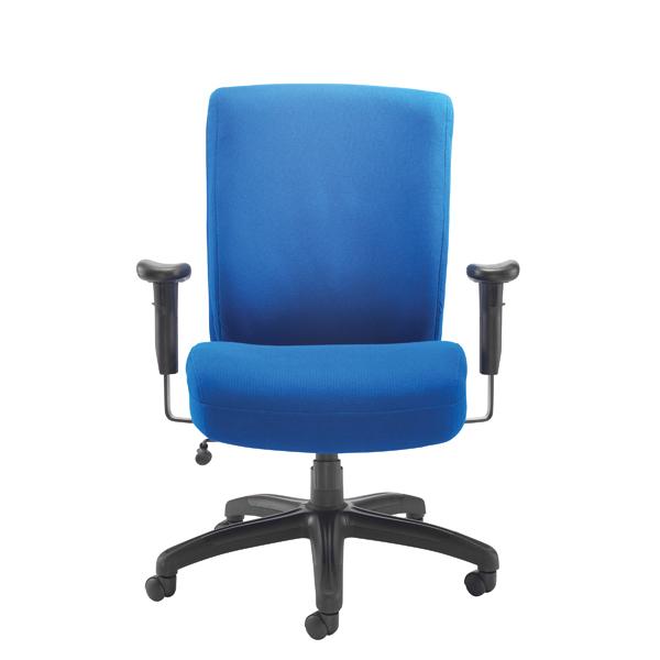 High Back Avior Lomond Heavy Duty Chair Blue KF79132