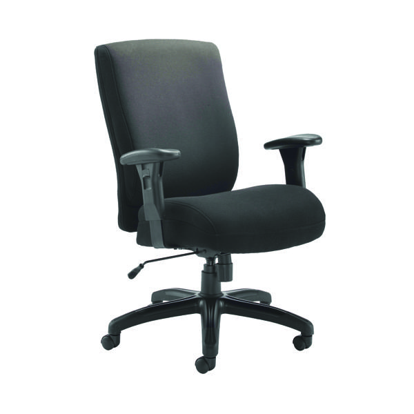 High Back Avior Lomond Heavy Duty Chair Black