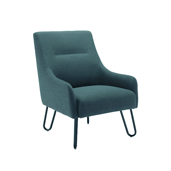 Chairs with Arms Jemini Grey Reception Armchair KF79142