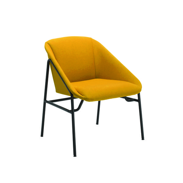 Chairs with Arms Jemini Mustard Bistro Reception Armchair KF79231