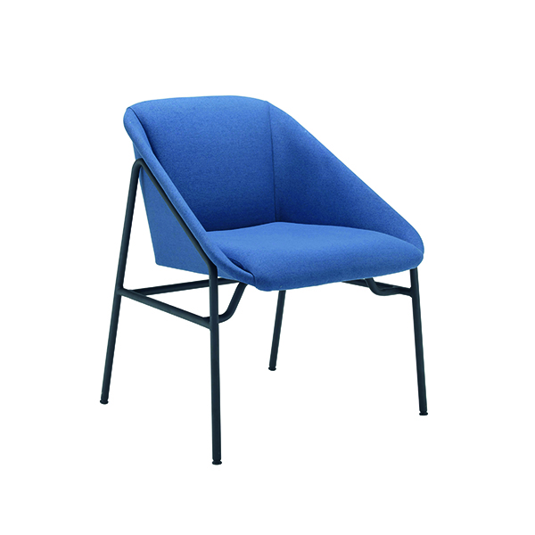 Chairs with Arms Jemini Navy Bistro Reception Armchair KF79232