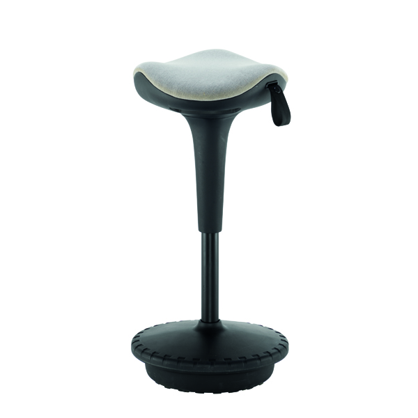 Other Jemini Sway Height Adjustable Sit Stand Wobble Stool Black/Blue KF79443