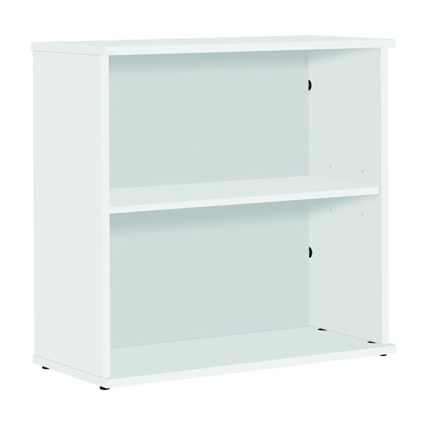 Unspecified Serrion Bookcase 800mm White E800BCWH