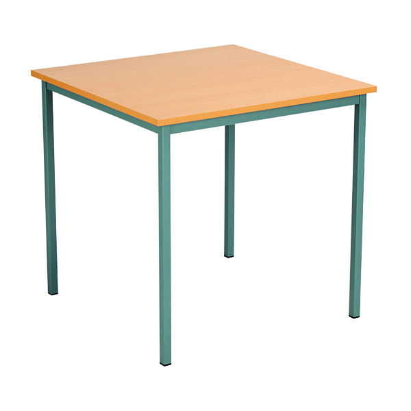 Office Serrion Square Desk 750mm Bavarian Beech ESQUT750BE