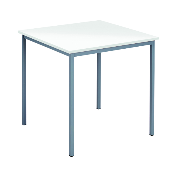 Office Serrion Square Desk 750mm White ESQUT750WH